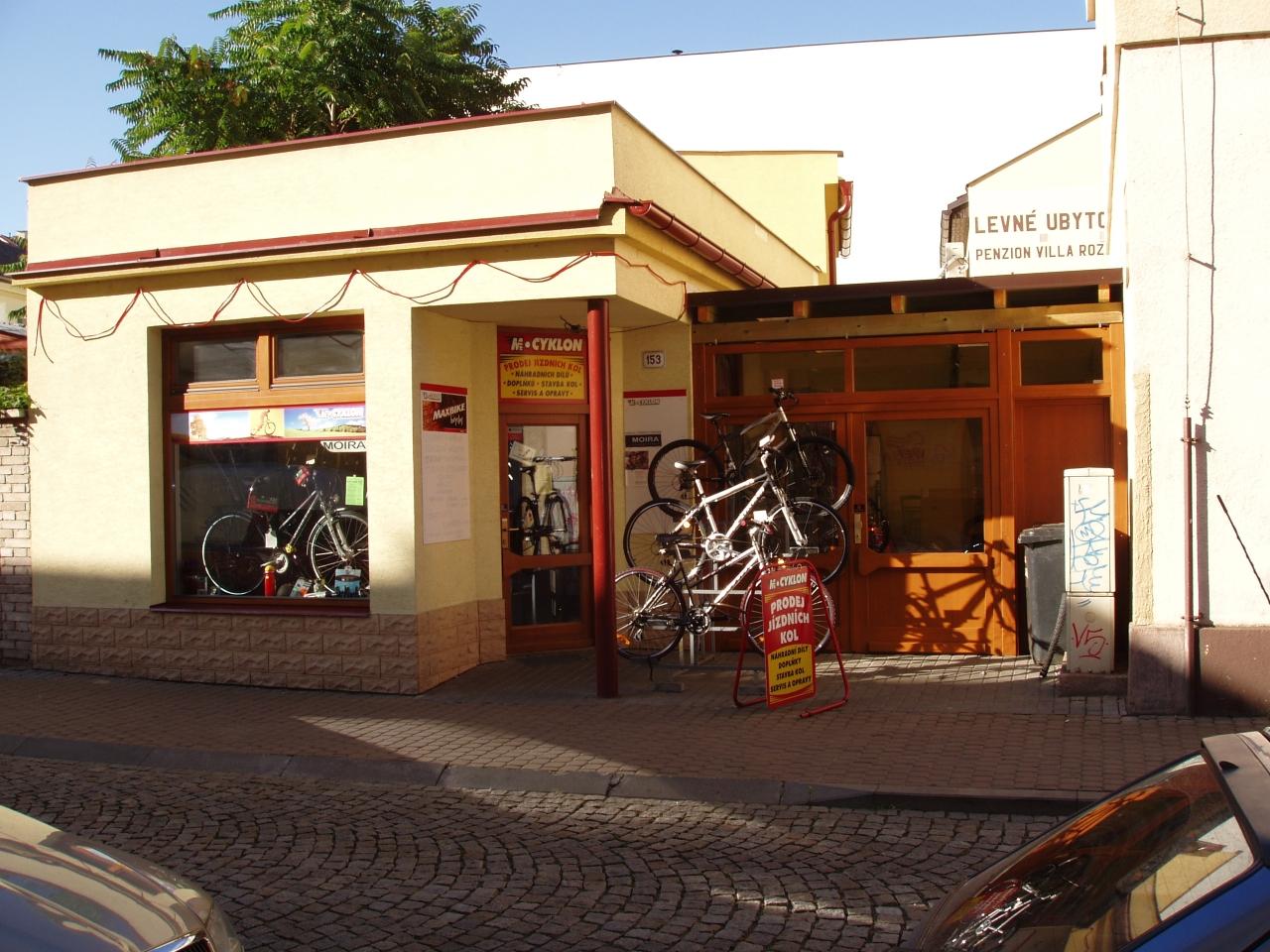 Prodejna jízdních kol Uherské Hradiště