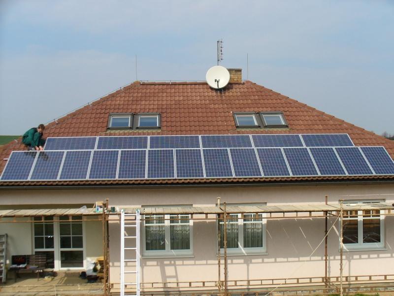 Projekce, montáž solárních systémů, fotovoltaika