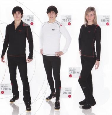 Podzim 2010, sportovní fitness oblečení, termooblečení Olomouc