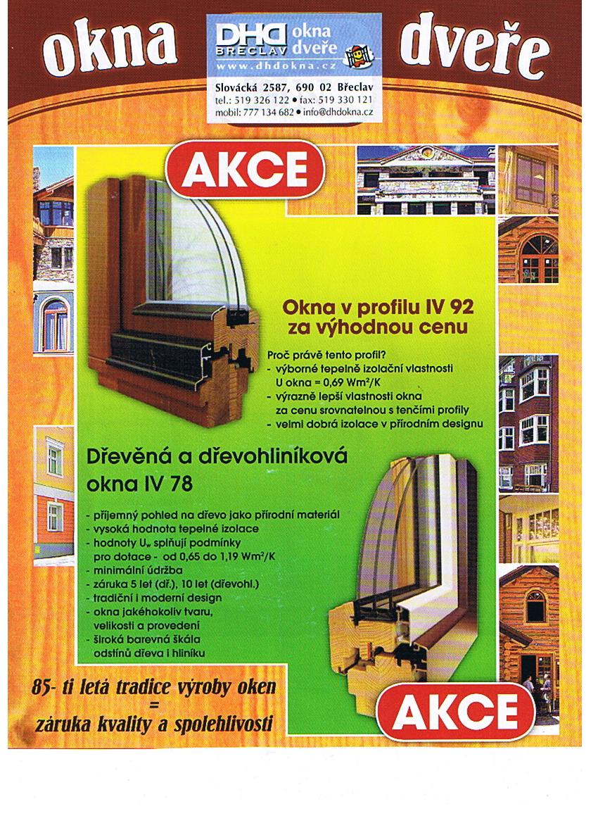 Dřevěná okna, eurookna,  Břeclav