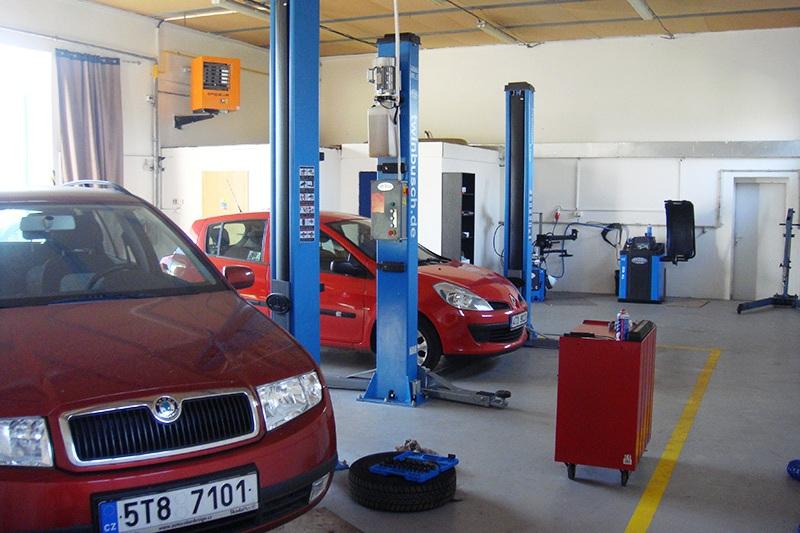 Přezutí pneu na zimní i letní gumy Krnov