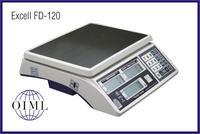 El.váha EXCELL FD-120 15kg/5g