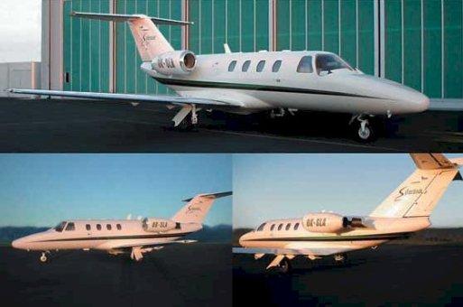 Soukromé lety tryskovým letounem Cessna