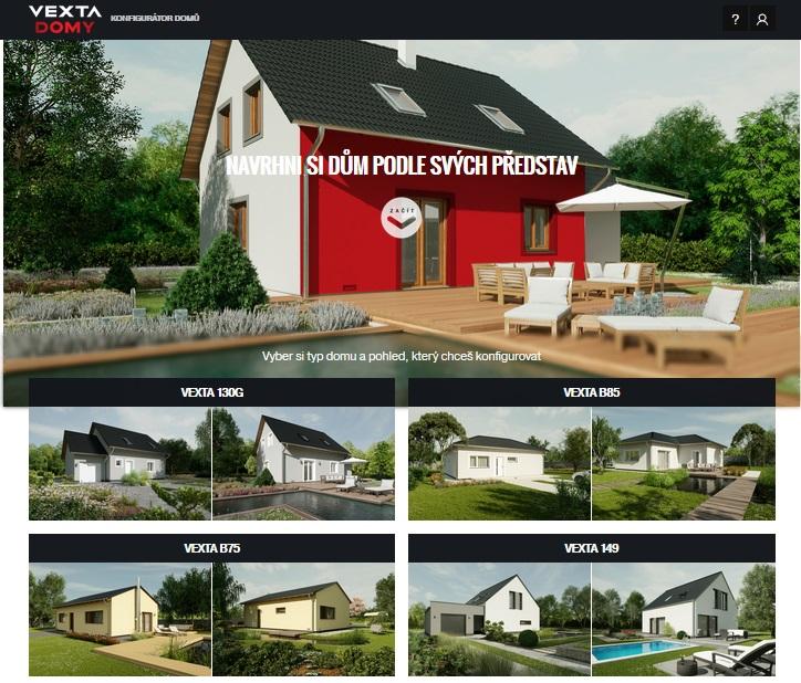 Online konfigurátor rodinných domů - snadné zhmotnění Vašich představ a snů