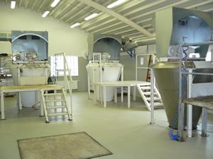 Výroba  homogenizace balení instantních potravinářských směsí.