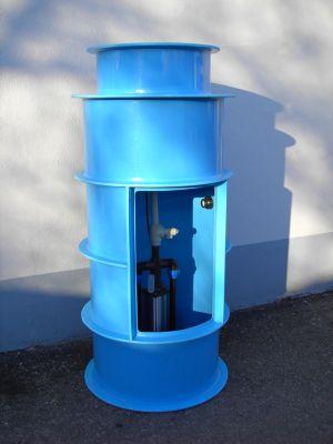 Čerpací jímky pro tlakovou kanalizaci
