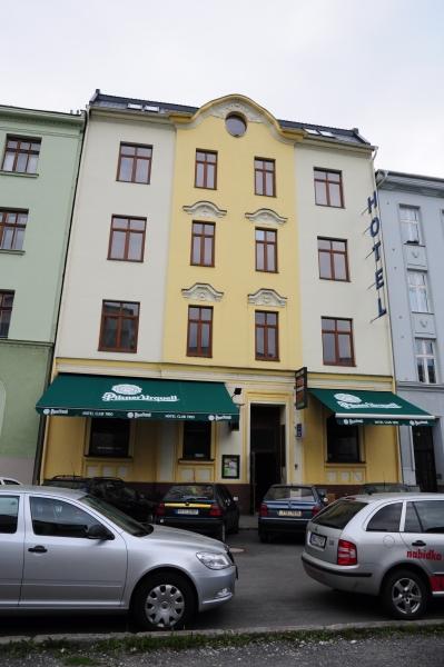 Hotel, ubytování v centru Ostravy na ulici Stodolní