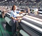Úprava podšívkových tkanin ze 100% polyesteru, pongee Prostějov
