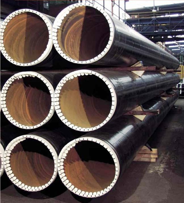 Přírubové trubky s dvojitým lemem na obou koncích z kvalitní oceli
