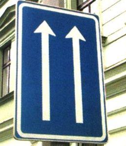 Informativní dopravní značky - půjčovna