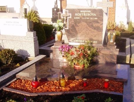 vlastní výroba náhrobků ve vysoké kvalitě Opava