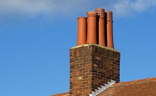 Třísložkové tepelně izolované komíny - možnost barevné úpravy venkovního pláště