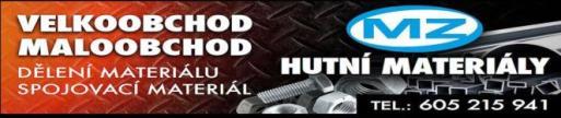 Prodej hutní materiál, ocel plochá, pásová, plechy, jekly, trubky, úhelníky
