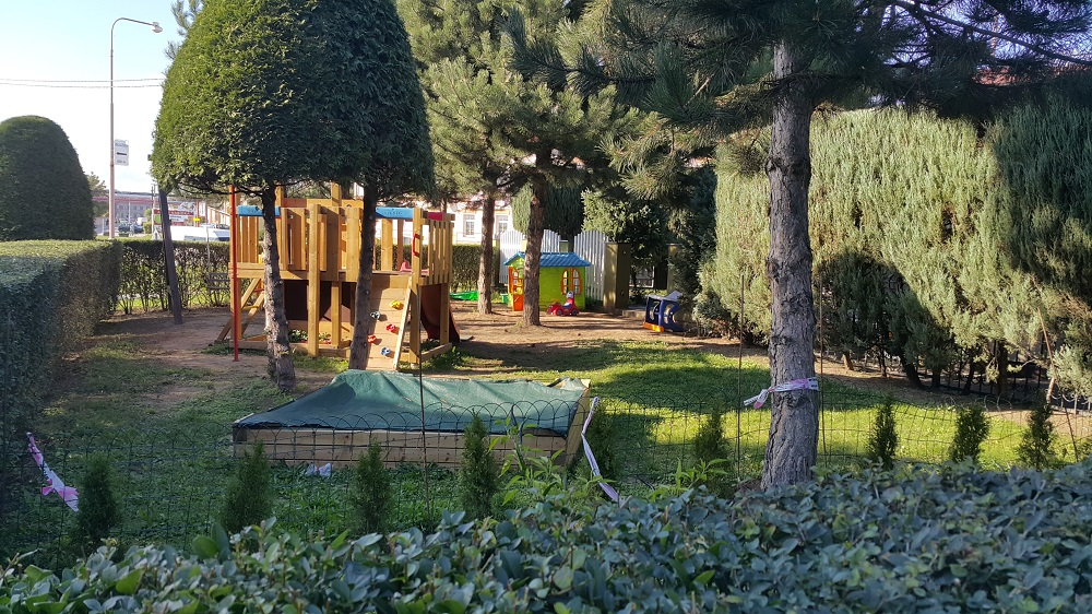penzion s dětským hřištěm Staré Město