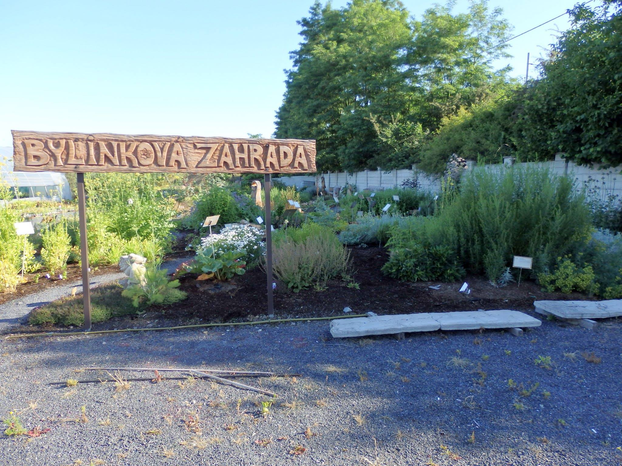 Bylinková zahrada - Zahradnictví Petro
