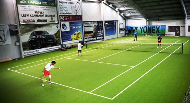 Vnitřní tenisové kurty - tenis Zlín