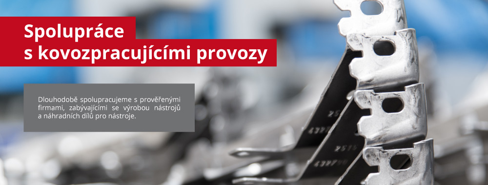 Výroba dílů pro automobilový průmysl Chomutov