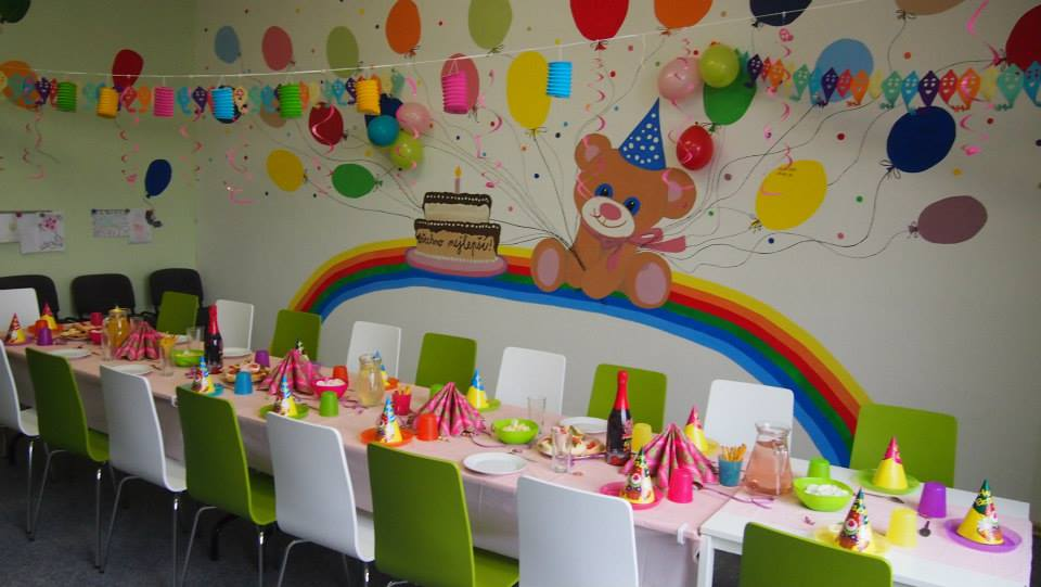 Pronájem herny nebo narozeninové místnosti i s výzdobou pro dětské oslavy