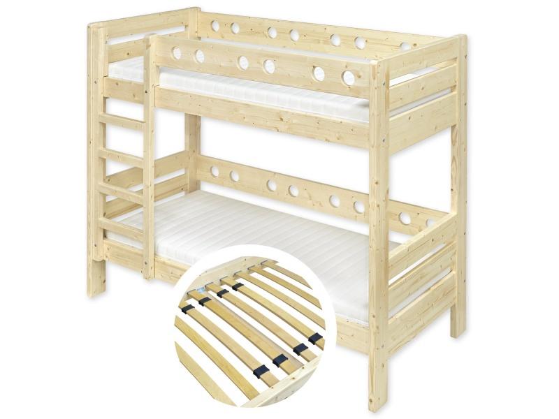 Masivní postele Písek