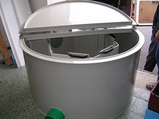 Výroba plastových vodojemů a jímek na pitnou i dešťovou vodu