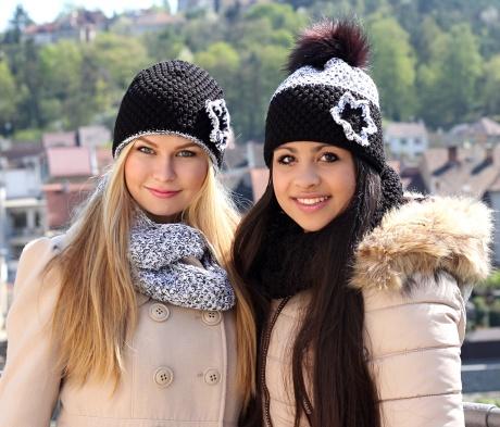 Výroba, prodej pletených čepic na zakázku, originální čepice, šály, rukavice