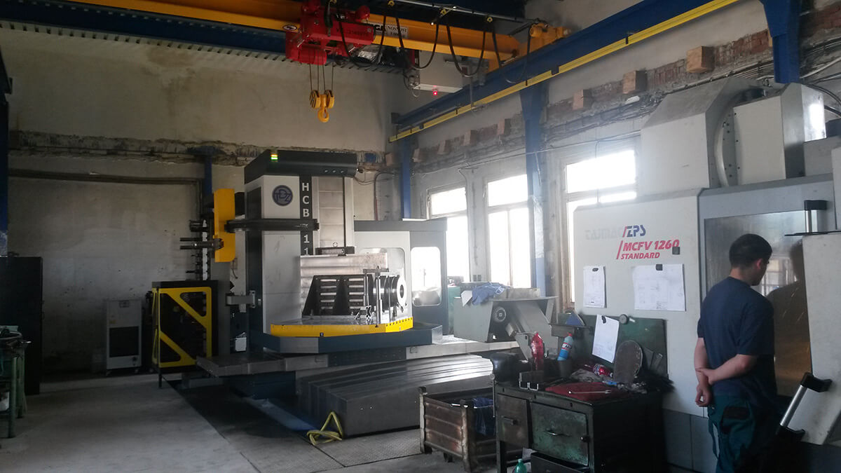 Obrábění hutnických výrobků na kvalitních strojích