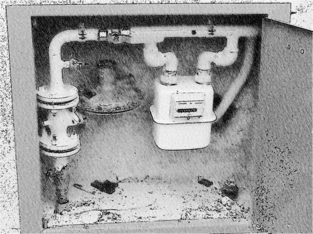 Přípojky vody a kanalizace, domovní rozvody plynu Velká Bystřice