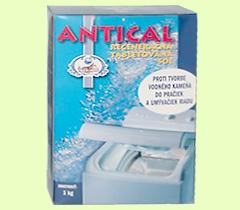 Regenerační přípravky - tabletová sůl pro odstranění vodního kamene v pračkách a myčkách