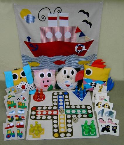 Textilní hračky a kapsáře e-shop