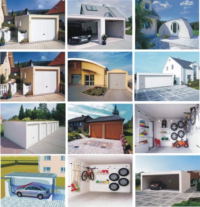 Rychlá výstavba garáží