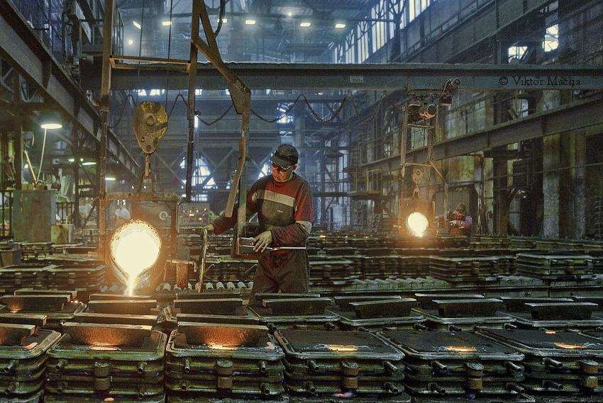 Kernmacherei, Formerei, Schmelzerei – Herstellung und Oberflächenbehandlung die Tschechische Republik