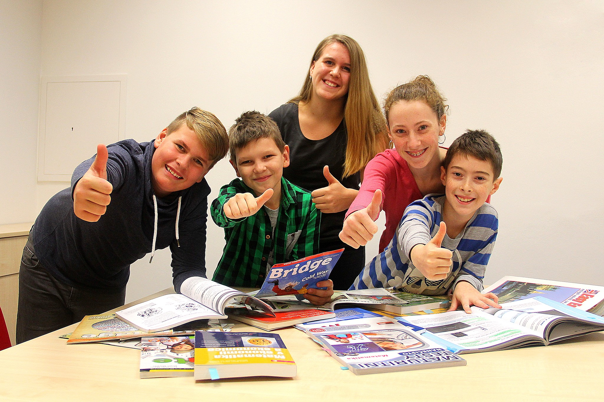 Přípravné kurzy ke státní maturitní zkoušce z matematiky a anglického jazyka