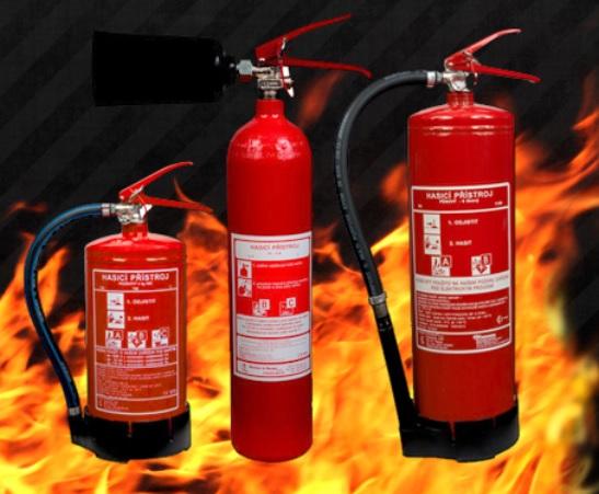 Kontrola, revize hasicích přístrojů, požárních hydrantů, hydrantových systémů