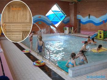 Plavecký bazén, finská sauna Šumperk