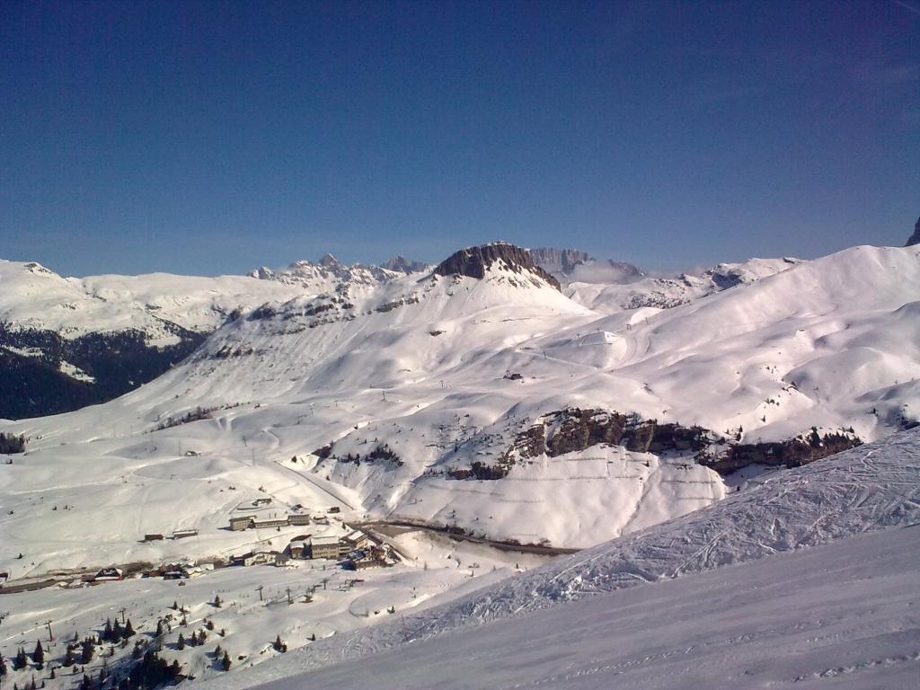 Zimní dovolená 2010/2011, lyžování Itálie, Rakousko