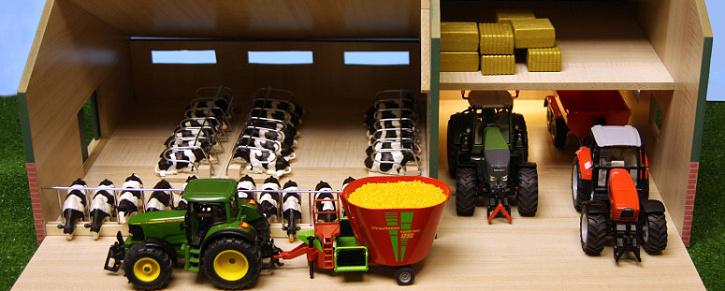 Globe Farming dětské stavebnice se zemědělskou tématikou - zemědělské farmy pro děti