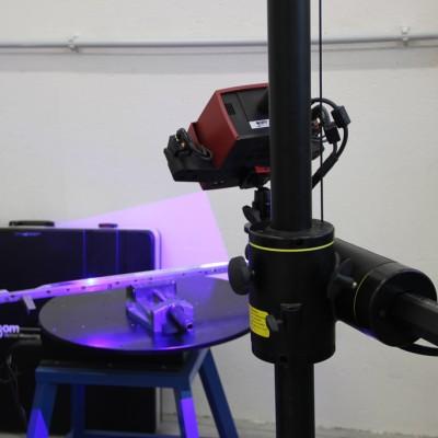 měření na 3D skeneru
