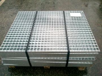 Prodej a dodávka - odporově svařované a presované podlahové rošty
