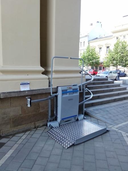 Šikmé schodišťové plošiny pro vozíčkáře Olomouc, Prostějov