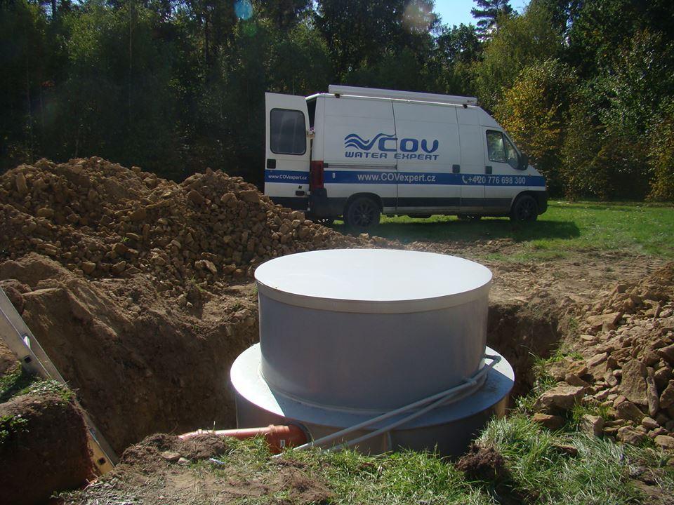 Čistírny odpadních vod na klíč - jímky, žumpy, septiky výroba