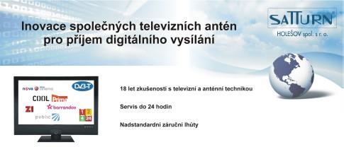 Příjem digitálního vysílání Kroměříž
