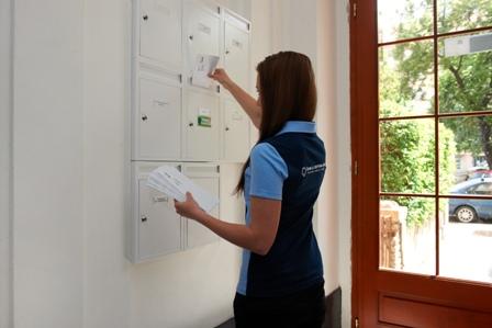 Adresné doručování zásilek, reklamní i osobní dopisy, kontrola správnosti adres
