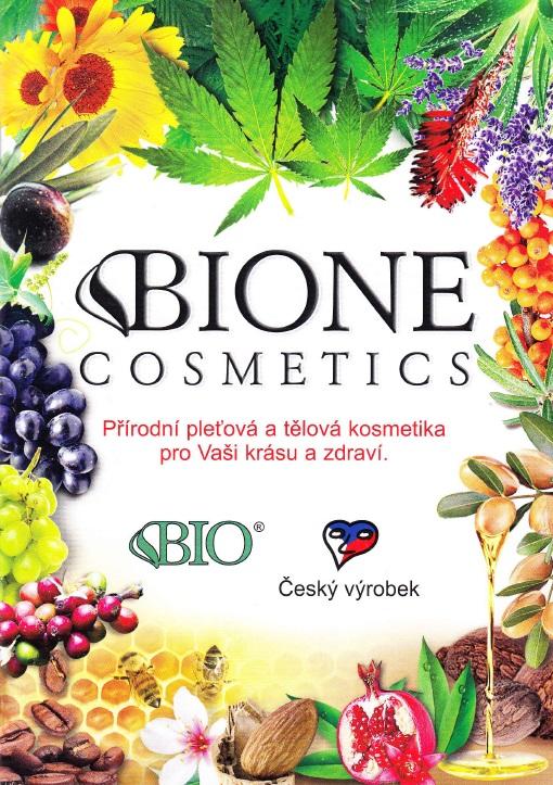 Bio pleťová, tělová kosmetika Bione - Česká přírodní kosmetika pro zdraví a krásu