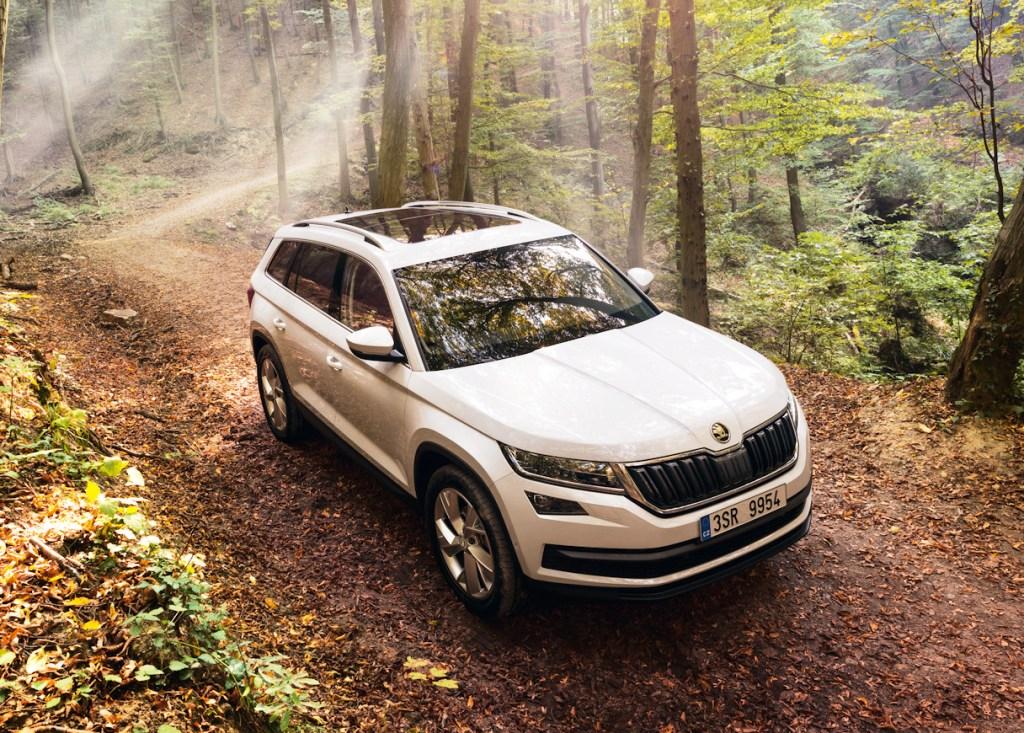 Bezpečný nový SUV automobil Škoda Kodiaq Hlučín