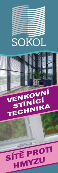 Stínící technika - žaluzie, venkovní rolety a sítě do oken proti hmyzu