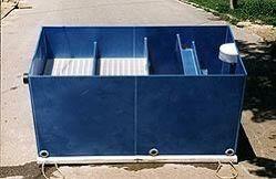 Odlučovače lehkých kapalin  - ropných látek, zařízení na úpravu a čištění vod