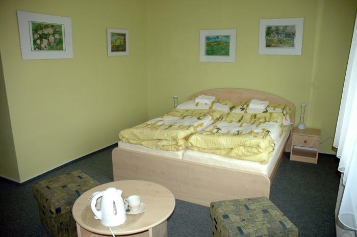 Romantické ubytování v penzionu u Uherského Hradiště