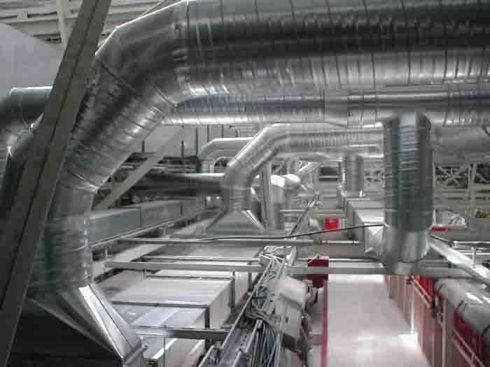 Montáž, výroba vzduchotechnických zařízení pro průmyslové, užitné i obytné budovy Liberec