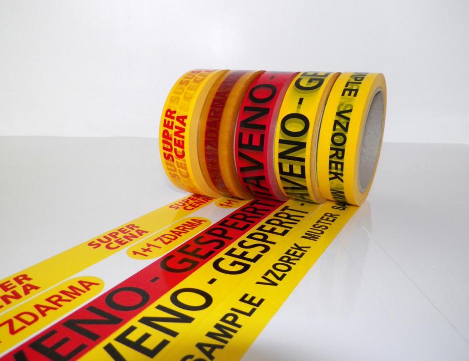 Výroba a prodej potištěných pásek na míru Zlín