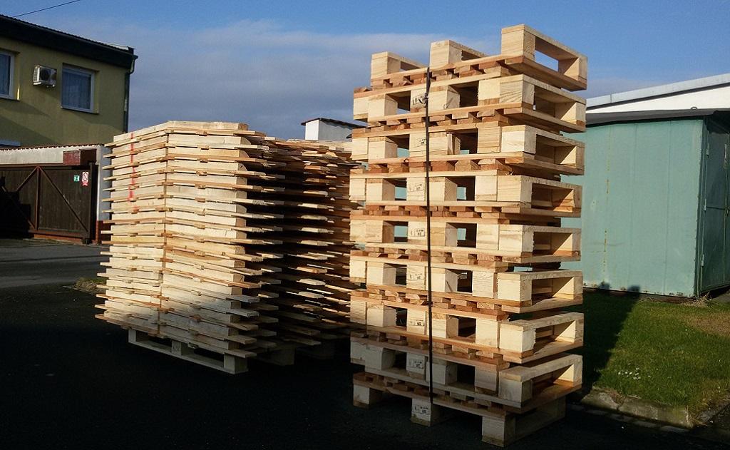 Dřevěné palety výroba Olomouc